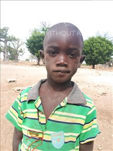 Raphael, aged 6, from Senegal, is hoping for a World Vision sponsor