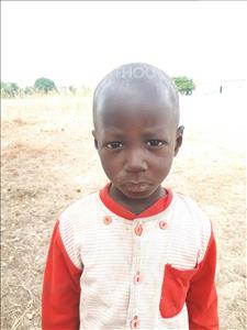 Choose a child to sponsor, like this little boy from Loul, Leo Assime age 3