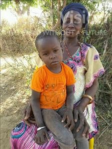 Choose a child to sponsor, like this little boy from Loul, Abdou Michel age 2