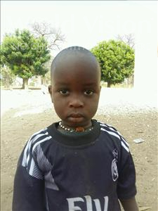 Choose a child to sponsor, like this little boy from Loul, Jean Baptistery Waly age 1