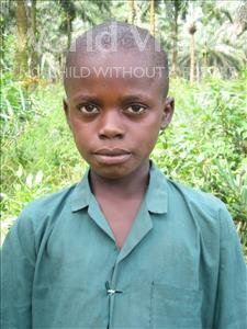 Alpha, aged 9, from Sierra Leone, is hoping for a World Vision sponsor
