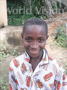 Choose a child to sponsor, like this little boy from Jong, Sandi age 9
