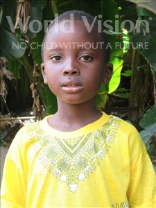 Choose a child to sponsor, like this little boy from Jong, Foday age 8