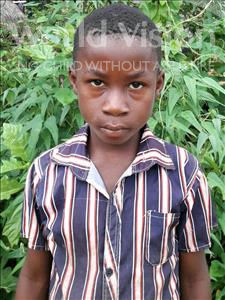 Choose a child to sponsor, like this little boy from Jong, George age 8