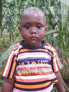 Choose a child to sponsor, like this little boy from Jong, Yasin age 4