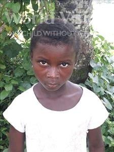 Choose a child to sponsor, like this little girl from Jong, Juliana age 7
