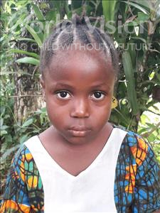 Choose a child to sponsor, like this little girl from Jong, Hannah age 6