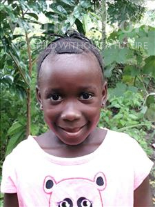 Choose a child to sponsor, like this little girl from Jong, Jestiana Isats age 6