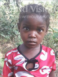 Choose a child to sponsor, like this little girl from Jong, Mamie age 4