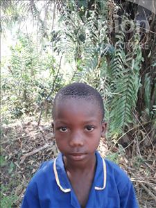 Choose a child to sponsor, like this little boy from Jong, Augustine age 6