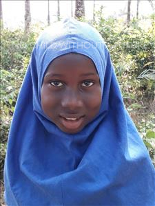 Choose a child to sponsor, like this little girl from Jong, Safiatu age 8