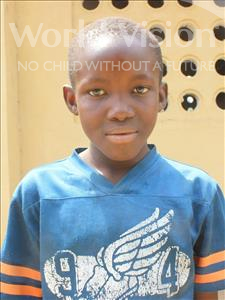 Choose a child to sponsor, like this little boy from Tegloma, Jalloh age 11