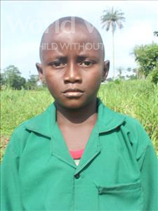 Choose a child to sponsor, like this little Boy from Tegloma, Biettie age 8