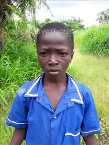 Choose a child to sponsor, like this little Boy from Tegloma, Alfred age 10