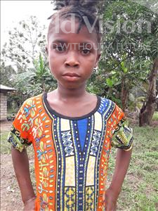 Choose a child to sponsor, like this little girl from Tegloma, Jebbeh age 8