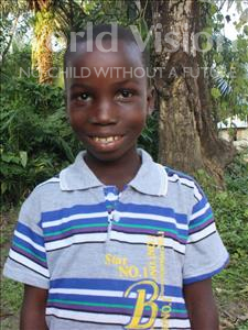 Choose a child to sponsor, like this little boy from Tegloma, Lansana age 11