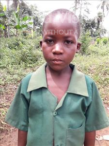 Choose a child to sponsor, like this little boy from Tegloma, Sallu age 8
