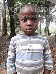 Choose a child to sponsor, like this little boy from Tegloma, James age 6