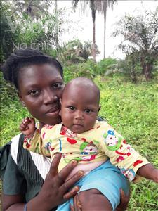 Choose a child to sponsor, like this little Boy from Tegloma, Mariama age 1