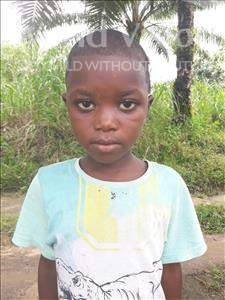 Choose a child to sponsor, like this little girl from Tegloma, Nancy age 7