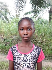 Choose a child to sponsor, like this little girl from Tegloma, Fatmata age 10