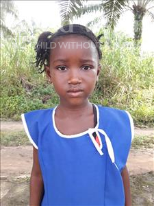 Choose a child to sponsor, like this little girl from Tegloma, Assanatu age 5