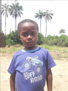 Choose a child to sponsor, like this little Boy from Tegloma, Jaiah age 6