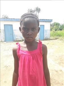 Choose a child to sponsor, like this little girl from Tegloma, Mariama age 7