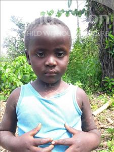 Choose a child to sponsor, like this little girl from Tegloma, Jeneba age 3