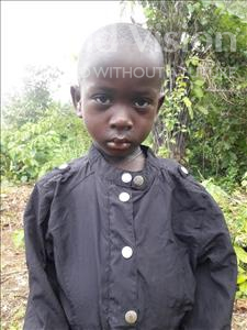 Choose a child to sponsor, like this little boy from Tegloma, Sheku age 3