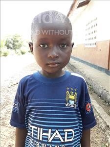 Choose a child to sponsor, like this little boy from Jaiama Bongor, Foday Mohamed age 8