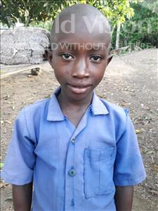 Choose a child to sponsor, like this little boy from Jaiama Bongor, Francis age 11