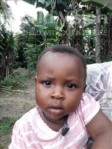 Choose a child to sponsor, like this little Boy from Jaiama Bongor, Swaray age 1