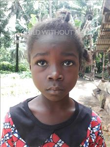 Hannah, aged 8, from Sierra Leone, is hoping for a World Vision sponsor
