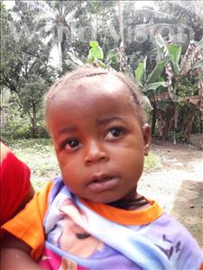 Choose a child to sponsor, like this little girl from Jaiama Bongor, Mamie age 2