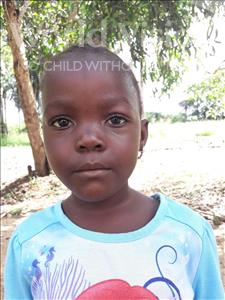 Choose a child to sponsor, like this little girl from Jaiama Bongor, Jestina age 5