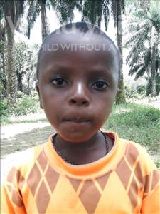Choose a child to sponsor, like this little boy from Jaiama Bongor, Musa age 4
