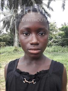 Choose a child to sponsor, like this little girl from Jaiama Bongor, Jestina age 11