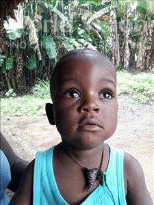 Siddy, aged 1, from Sierra Leone, is hoping for a World Vision sponsor