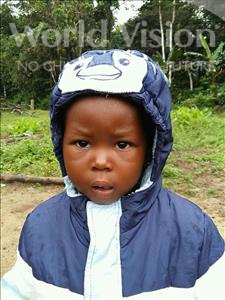 Choose a child to sponsor, like this little girl from Jaiama Bongor, Hawanatu age 2
