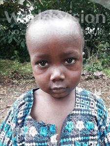Choose a child to sponsor, like this little boy from Jaiama Bongor, Lahai K age 4