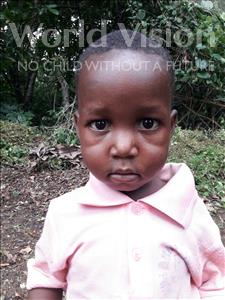 Choose a child to sponsor, like this little boy from Jaiama Bongor, Alieu age 4