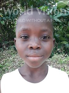 Choose a child to sponsor, like this little boy from Jaiama Bongor, Duraman age 7