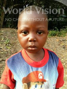 Choose a child to sponsor, like this little boy from Jaiama Bongor, Lahai age 3