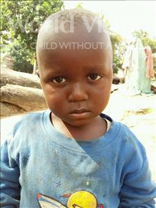 Choose a child to sponsor, like this little boy from Jaiama Bongor, Sao age 3
