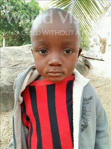 Choose a child to sponsor, like this little boy from Jaiama Bongor, Kamma age 3