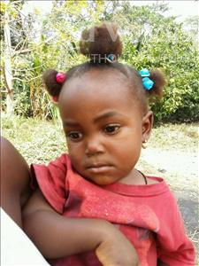 Choose a child to sponsor, like this little girl from Jaiama Bongor, Baby Princess age 2