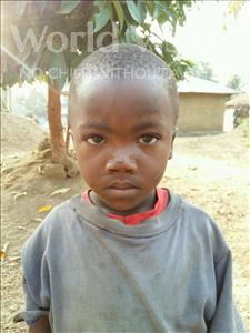 Choose a child to sponsor, like this little boy from Jaiama Bongor, Bokarie age 3