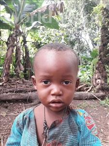 Choose a child to sponsor, like this little boy from Jaiama Bongor, Alpha age 2