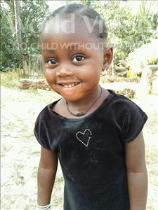 Lucy, aged 3, from Sierra Leone, is hoping for a World Vision sponsor